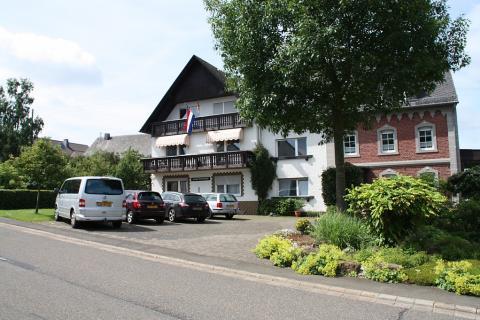 Vooraanzicht van Haus Buchholz