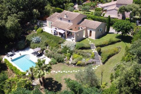 Villa Valbonne luchtfoto